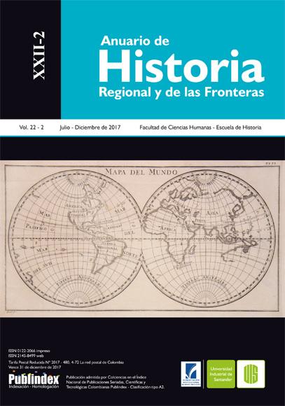 Anuario de Historia Regional y de las Fronteras, vol. XXII-2 (2017)